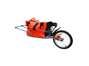 Bicycle Trailer One-wheel with Luggage Bag