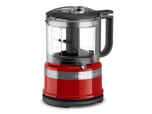 KitchenAid KFC3516ER 3.5 Cup Mini Food Processor, Empire Red