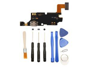 Games&Tech USB Charger Charging Dock Port with Mic Microphone Flex Cable + Tools for Samsung Galaxy Note i9220 N7000