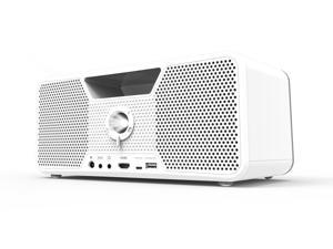 Dashbon Flicks 140WH Cordless Portable Boombox Projector
