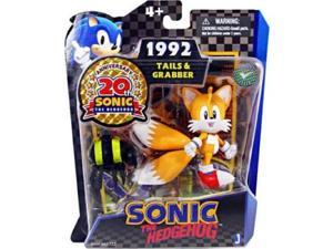 "Sonic The Hedgehog 20th Anniversary 3"" Plastic Action Figure 1992 Tails/Grabber"