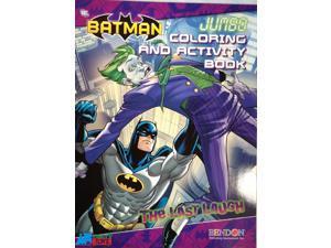 Batman Jumbo 64 Pg Activity And Coloring Book