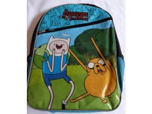Adventure Time Blue/Black Large Backpack