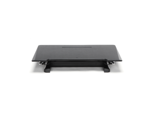 Essentials By OFM Adjustable Desktop Riser with Keyboard Tray