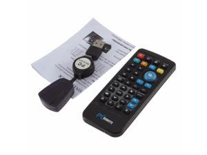 USB Media IR Wireless Mouse Remote Control Controller USB Receiver For Laptop PC Computer Center Windows Xp Vista