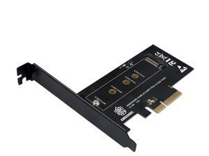 M.2 NVMe SSD PCIe to PCIe 3.0 x4 Adapter - Support M.2 PCIe 2280, 2260, 2242 for Samsung PM961, 960EVO, SM961, PM951,sm951, INTEL 600P, liteon T10 SSD Not for SATA M.2 SSD