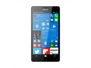 "Microsoft Lumia 950 XL RM-1085 Single Sim Unlocked 5.7"" AMOLED Display 3GB RAM 32GB Internal 20MP Camera Phone - Black - International Version"