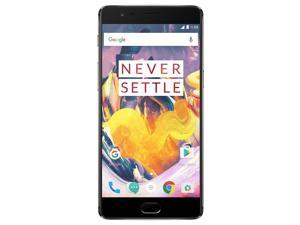 OnePlus 3T A3010 Factory Unlocked 5.5''AMOLED Display 6GB RAM 64GB 16MP Camera - Gunmetal - International Version