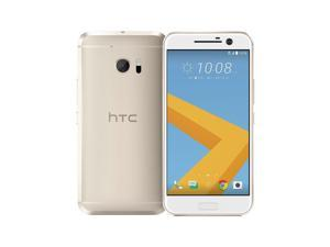 HTC 10 M10h Unlocked 5.2'' LCD Display 4GB RAM 32GB 12MP Camera Phone - Topaz Gold - International Version