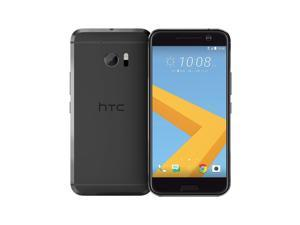 HTC 10 M10h Unlocked 5.2'' LCD Display 4GB RAM 32GB Internal 12MP Camera Phone - Carbon Gray - International Version
