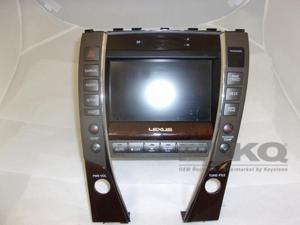 2012 Lexus ES350 Information Display Screen w/Climate Control OEM LKQ