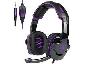 [2017 New Updated Gaming Headset]SADES SA930 3.5mm wired Gaming Headset with Microphone,Noise Isolating Volume Control for Pc/Mac/Ps4/Phone