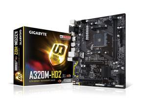 GIGABYTE GA-A320M-HD2 (rev. 1.0) AM4 AMD A320 SATA 6Gb/s USB 3.1 HDMI Micro ATX AMD Motherboard