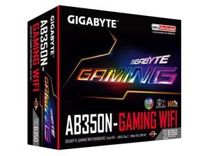 GIGABYTE GA-AB350N-Gaming WIFI (rev. 1.0) AM4 AMD B350 SATA 6Gb/s USB 3.1 HDMI Mini ITX AMD Motherboard