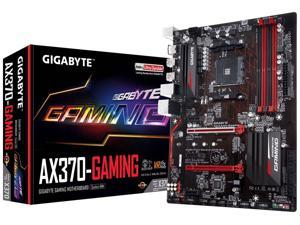 GIGABYTE GA-AX370-Gaming (rev. 1.0) AM4 AMD X370 SATA 6Gb/s USB 3.1 HDMI ATX AMD Motherboard
