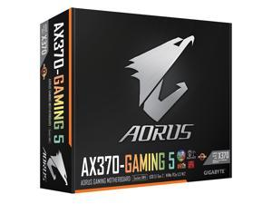 GIGABYTE GA-AX370-Gaming 5 (rev. 1.0) AM4 AMD X370 SATA 6Gb/s USB 3.1 HDMI ATX AMD Motherboard