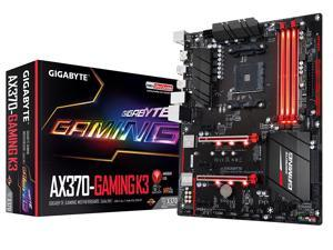 GIGABYTE GA-AX370-Gaming K3 (rev. 1.0) AM4 AMD X370 SATA 6Gb/s USB 3.1 HDMI ATX AMD Motherboard