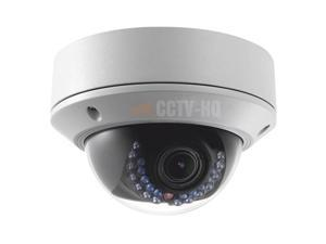 Hikvision DS-2CD2742FWD-IZS, U.S. STOCK, 4MP IP OUTDOOR DOME CAMERA, MOTORIZED 2.8~12mm VARIFOCAL, IK10, TRUE WDR, SUPPORT AUDIO, IR RANGE UP TO 100ft