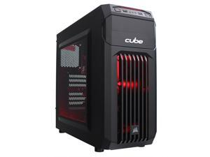 Cube Summoner ESports Ready Gaming PC AMD Ryzen 5 Quad Core with Radeon RX 550 2Gb Graphics Card