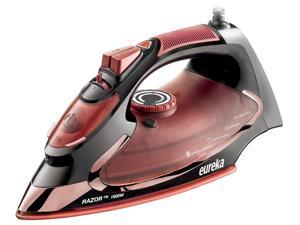 Eureka Razor Powerful Steam Burst Super Hot 1500 Watt Iron Marsala Pouch Include