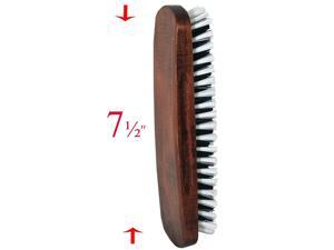 Solid Wood Clothes Brush with Soft & Sturdy Bristles and Handy Grip BR-35