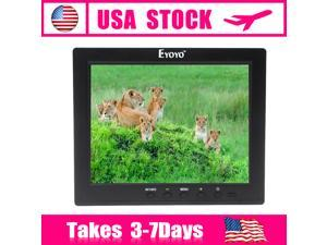 US Local Stock!! 8 Inch IPS LCD Video Monitor Audio VGA HDMI BNC USB HD Monitor MP5 For DVR PC CCTV Cam