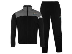 NUFC Mens Club Tracksuit Long Sleeve Top Pants Bottoms Trousers Clothing