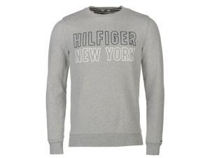 Hilfiger Denim Mens New York Sweater Ribbed Pullover Long Sleeve Crew Neck Top