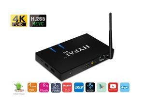 HYFAI Q28 MINI PC ANDROID TV BOX QUAD CORE 4KX2K ANDROID 7.0 2GB + 8GB With BLUETOOTH