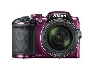 Nikon COOLPIX B500 16MP 40x Optical Zoom Digital Camera w/ Wi-Fi - Plum