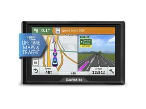Garmin Drive 50 USA LMT GPS Navigator System with Lifetime Maps, Traffic, Driver Alerts, and Foursquare Data