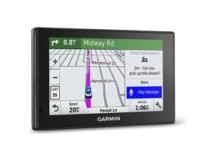 Garmin DriveSmart 60 NA LMT Smart GPS Navigator System with Lifetime Maps, Driver Alerts and Traffic Plus Voice Activation