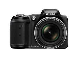Nikon COOLPIX L810 16.1 MP 3.0-inch LCD Digital Camera - Black