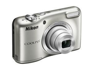 Nikon L31 16.1MP 5X Zoom 720P HD Video Digital Camera (Silver)