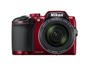 Nikon COOLPIX B500 16MP 40x Optical Zoom Digital Camera WiFi (Red)