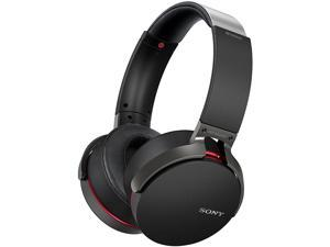 Sony MDR-XB950B1 EXTRA BASS Wireless Over-Ear Headphones with Mic (Black)