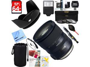 Tamron SP 24-70mm f/2.8 Di VC USD G2 Lens for Canon + 64GB Ultimate Kit