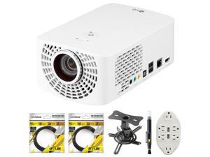LG PF1500W LED Smart Home Theater Projector PF1500W w/ Mount & Accessory Bundle