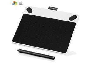 Wacom CTL490DW Intuos Draw Creative Pen Tablet - Small White-Certified Refurbish