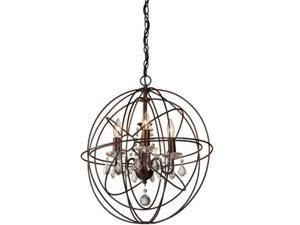 Artcraft Lighting CL1504 Carnaby Street Four Light Chandelier