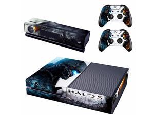 HALO 5 Xbox one Skin Stickers Vinyl Decal For Xbox one console and 2 Controllers Skin