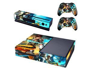 Overwatch For Microsoft Xbox One Console Vinyl Stickers Decal + 2 Controller Skins Sticker For X Box One Skin