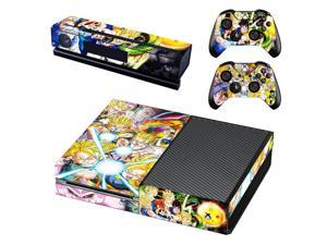 DRAGON BALL Z Vinyl Skin Cover Stickers Decal For Xbox One Console & Kinect & 2 Controller