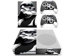 Star Wars Vinyl Decal Skin Sticker For Microsoft Xbox One Slim S Console With 2Pcs Controller Skins Cover