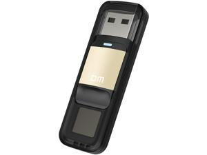 DM PD0614GB 3 High-speed Recognition Fingerprint Encrypted High tech Pen Drive Security Memory USB Flash Drives USB Stick