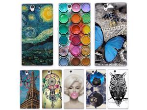 Unique Style Phone Case For Sony Xperia Z L36H C6603 C6602 Cover Soft Silicone TPU Colorful Case For Sony Xperia Z L36H 5.0 inch