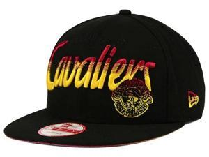 "Cleveland Cavaliers NBA New Era 9Fifty ""Fade To Script"" Snapback Hat"
