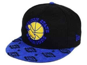 "Golden State Warriors NBA New Era 9Fifty ""Sueded Print"" Snapback Hat"