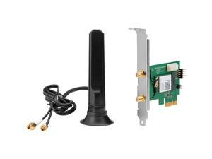 HP N4G85AT Intel Dual Band Wireless-Ac 7265 - Network Adapter - Pcie Mini Card (M.2) - 802.11B, 802.11A, 802.11G, 802.11N, Bluetooth 4.0 Edr, 802.11Ac - Class 2 - Promo - For Elitedesk 800 G2, Prodes
