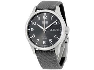 Oris Black Dial Stainless Steel Men's Watch 75276984063TSGRY